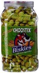 Buy Choostix Biskies with Real Vegetables Dog Treat, 500 g Rs. 88 only at Amazon.