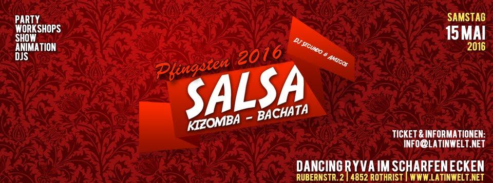 PFINGSTPARTY SALSA 15.05.2016