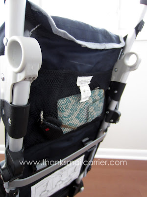QuickSmart Backpack Stroller storage