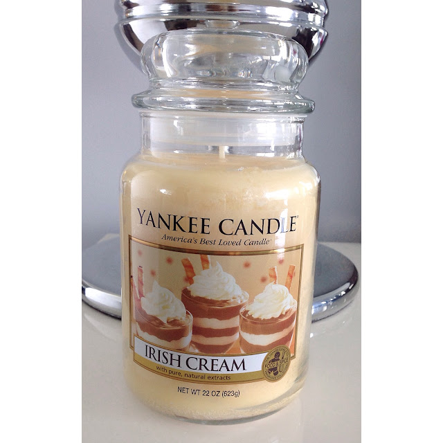 Yankee Candles: Irish Cream