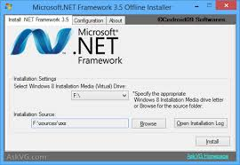 Install NET Framework in your computer