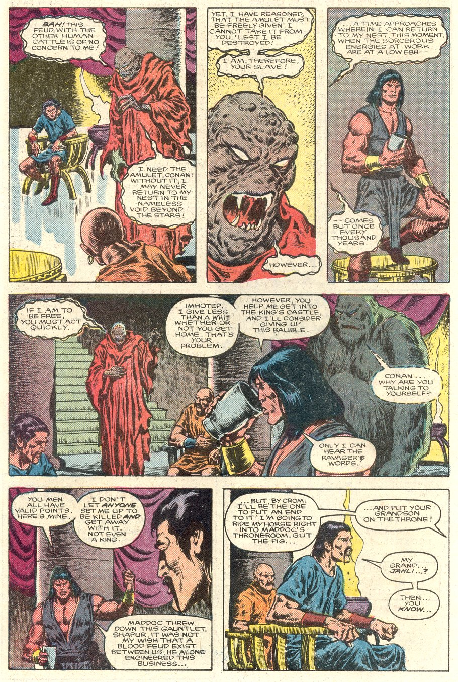 Conan the Barbarian (1970) Issue #184 #196 - English 7