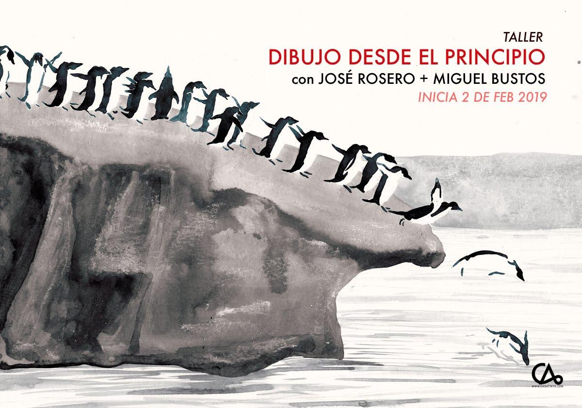 DIBUJO DESDE EL PRINCIPIO // 2 de feb