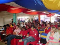 Militantes del Psuv Mérida asistieron al curso de formación de ideología en Miranda