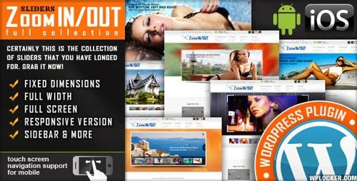 Responsive Zoom In/Out Slider WordPress Plugin free