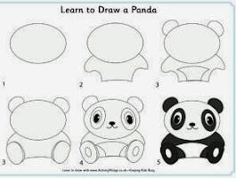 How To Draw Cute Pandas