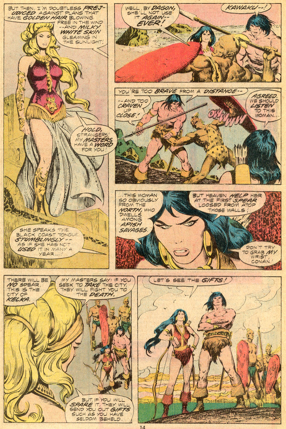 Conan the Barbarian (1970) Issue #70 #82 - English 9