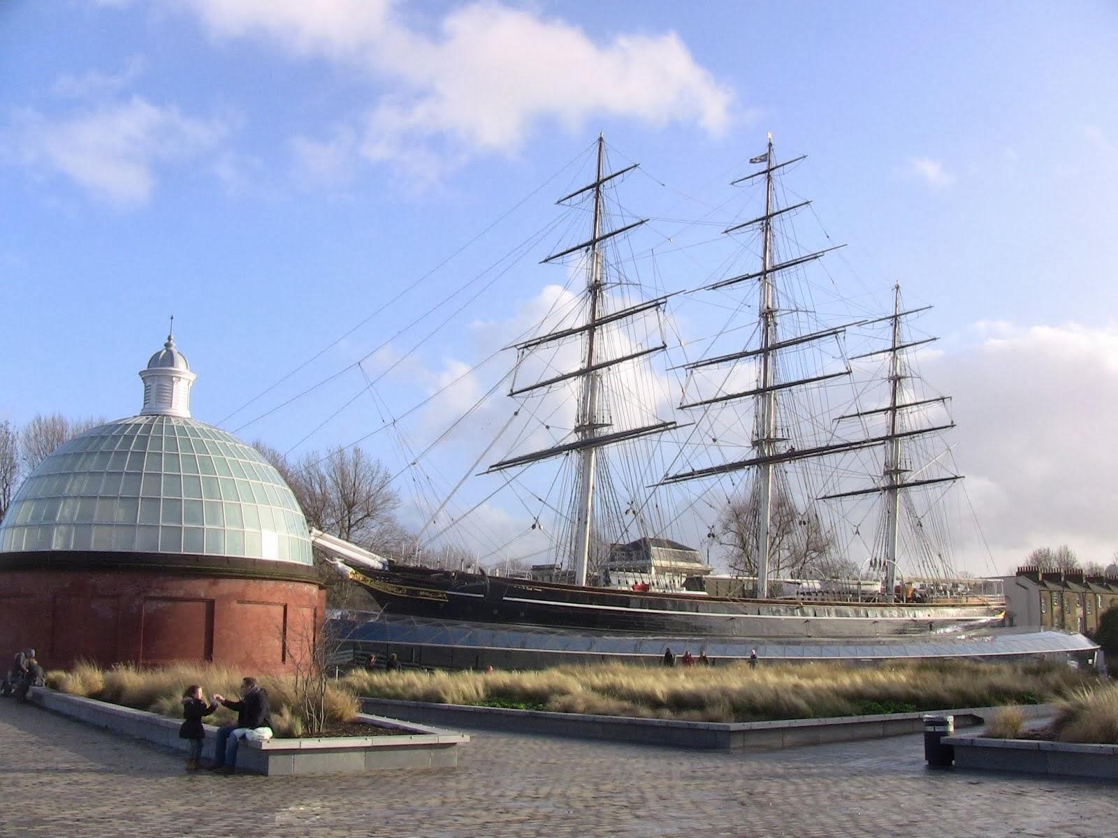 le Cutty Sark voilier de commerce du XIXe siècle