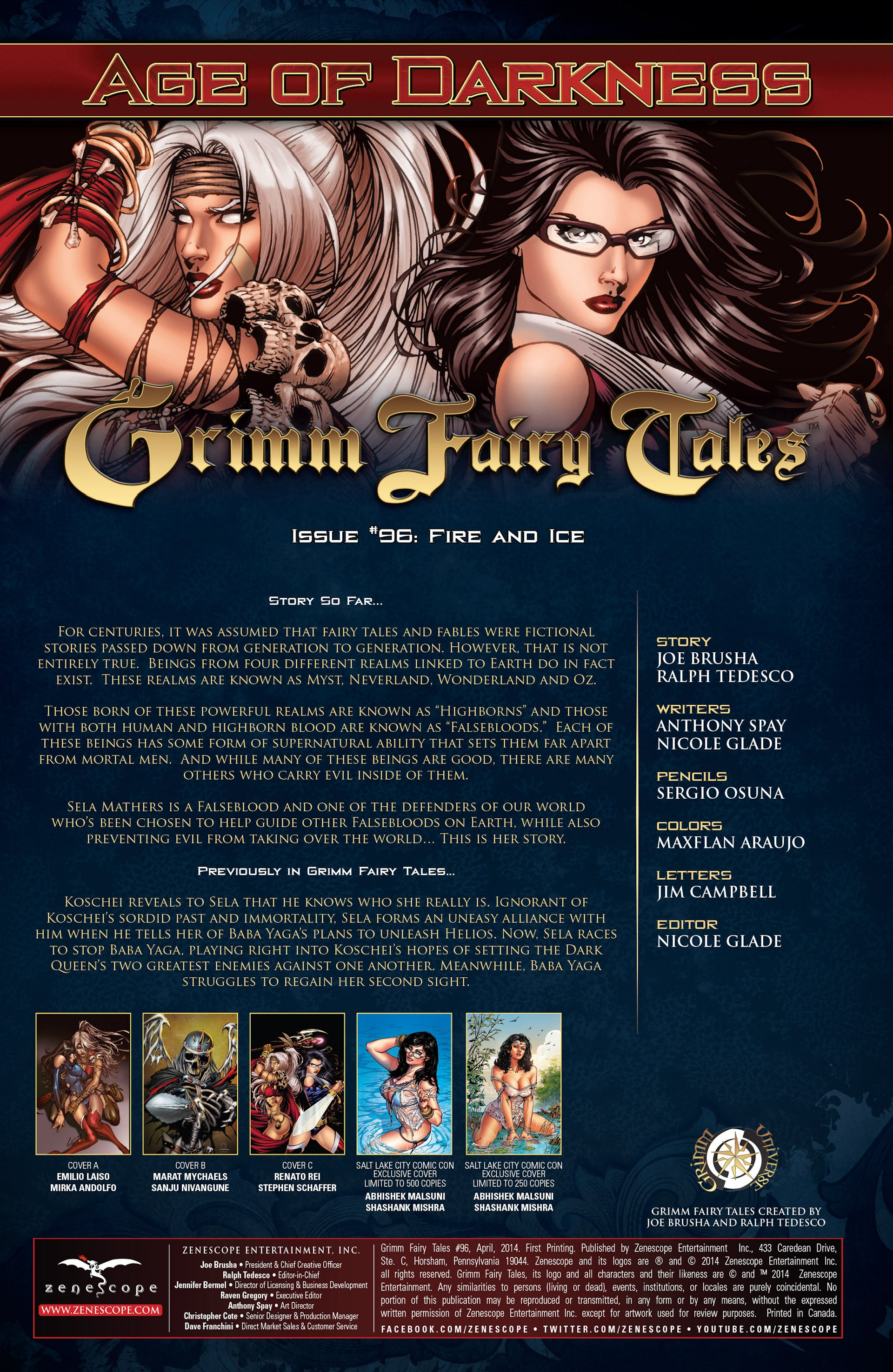 Grimm Fairy Tales (2005) Issue #96 #99 - English 2