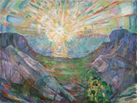 Le Soleil, 1910-13, Huile sur toile, 162 x 205 cm, © Munch Museum / Munch-Ellingsen Group / BONO 2011, © Adagp, Paris 2011