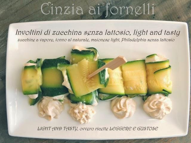 involtini di zucchine light