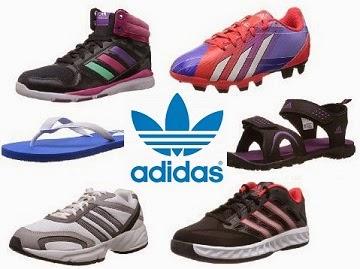 Adidas Men's / Women's Footwear: Flat 40% Off on Shoes, Flip-Flop, Floaters @ Amazon