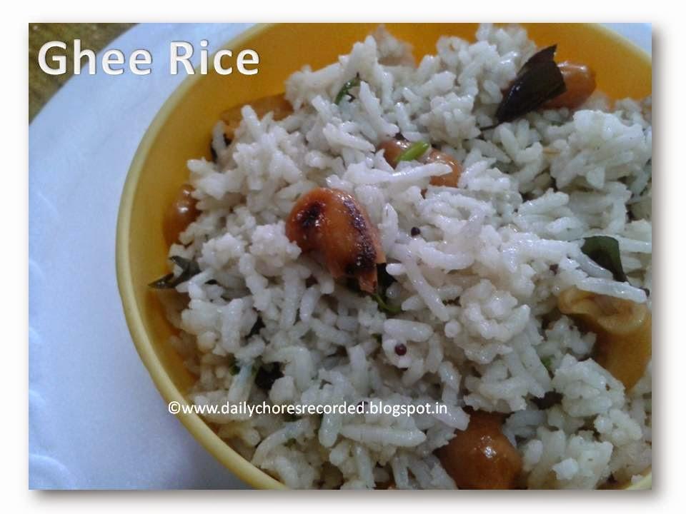 Ghee Rice |Neichoru