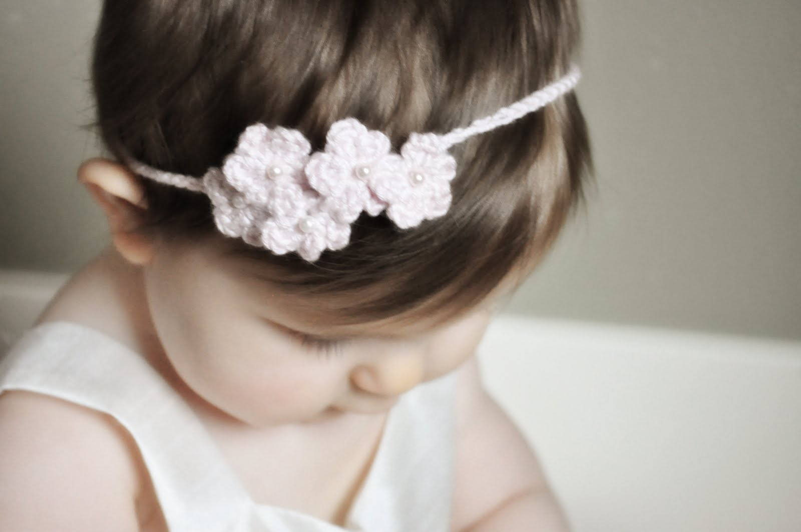 Easy Crochet Flower Headband Topsimages