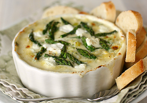 The Galley Gourmet: Spring Vegetable and Goat Cheese Dip
