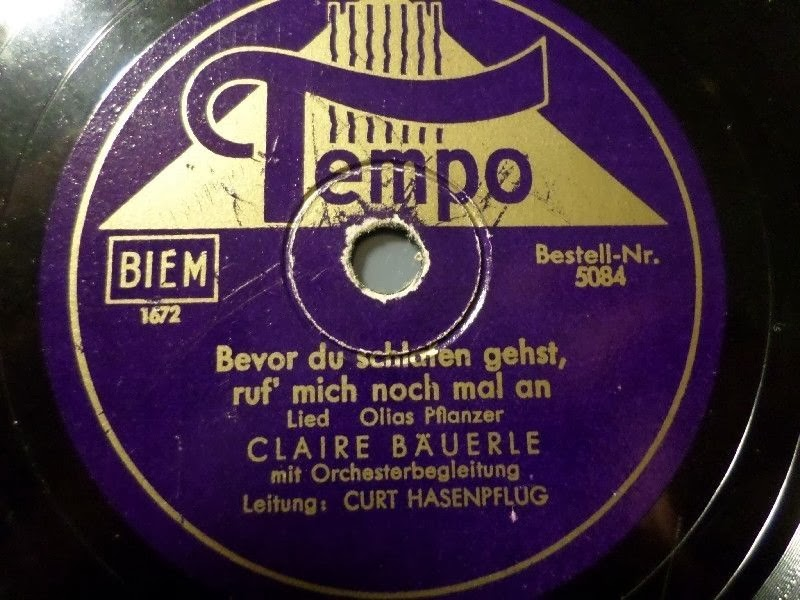 Tempo record with Claire Bauerle