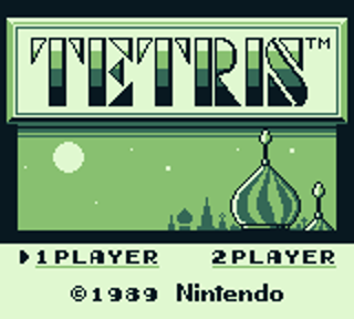 Tetris Title Screen