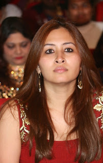 Jwala Gutta in lovely Tight Short Red Dress at at Chinnadana Nee Kosam Audio Launch