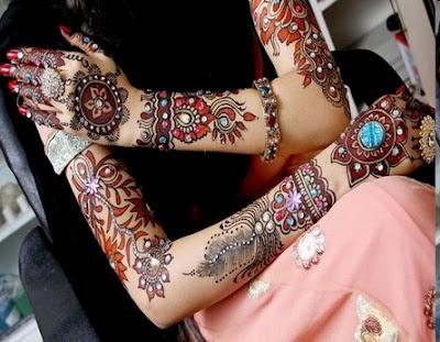 mehandi style