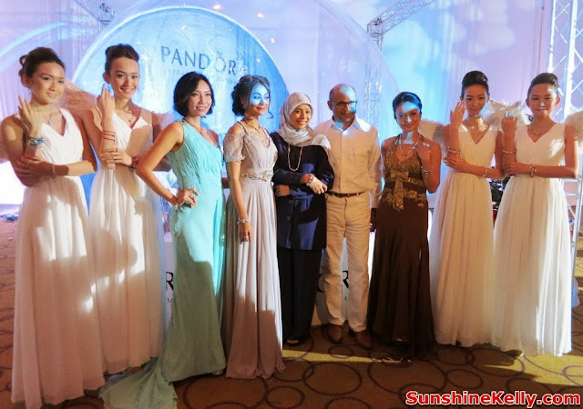 Pandora Christmas 2013 Collection, Pandora Malaysia 3rd anniversary, westin hotel kl, pandora, charms, bracelet, pendant, Dato' Meer Sadik Habib, Datin Zarida Noordin, Sazzy Falak, Tasha Sheila, Lynn Lim, Nadia Heng