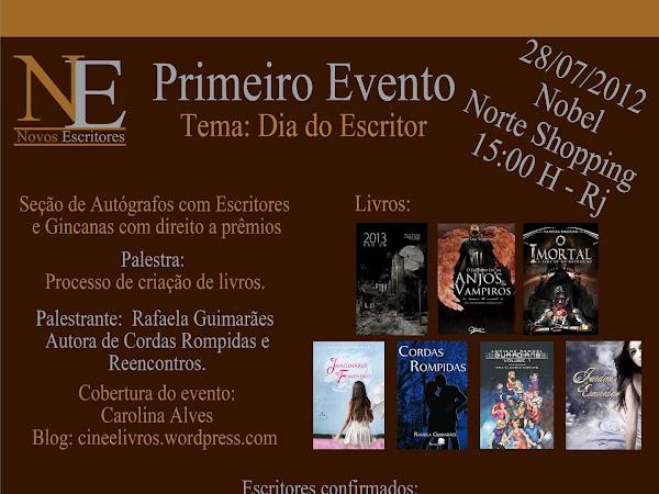Evento Novos Escritores: Dia do Escritor no Rio de Janeiro