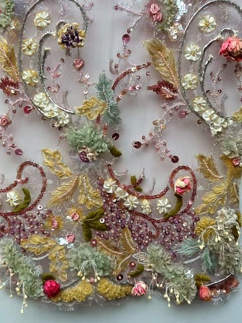 A textile day haute couture embroidery