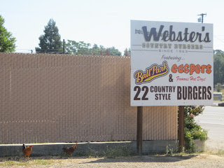 Webster's Country Burger Drive-In