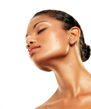 Corrective Make Up For The Chin And Jawline