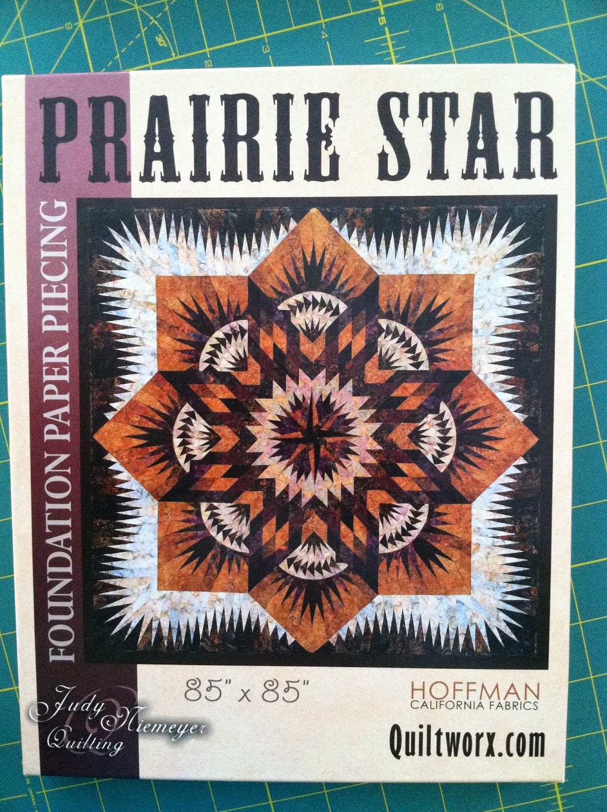 Prairie Star - Judy Niemeyer quilt pattern