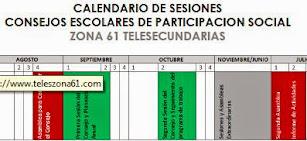 CALENDARIO DE SESIONES CEPS