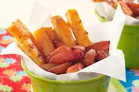 Batata-Doce e Pinhão Picante (vegana)