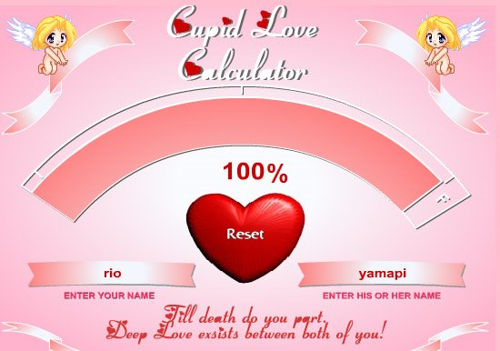 love calculator calculator love 550x386