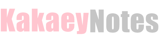 Kakaey Notes