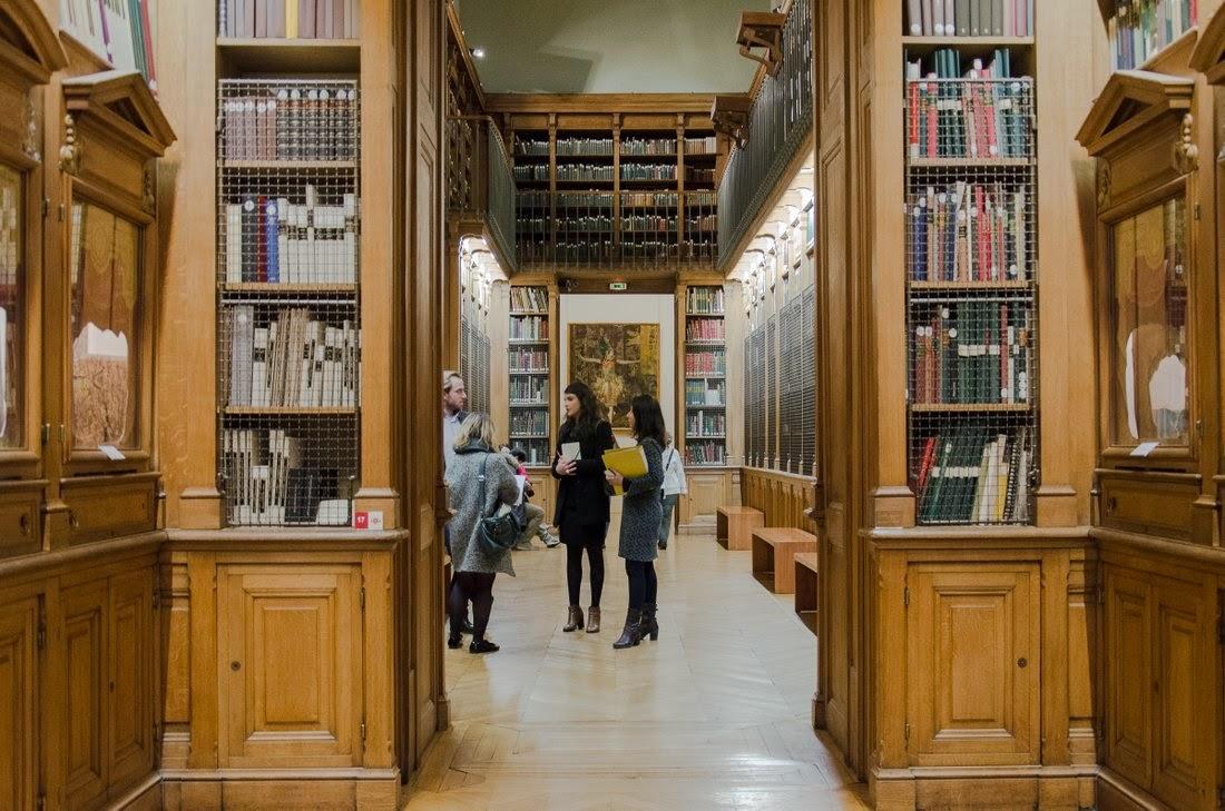 Opéra Garnier - bibliothèque