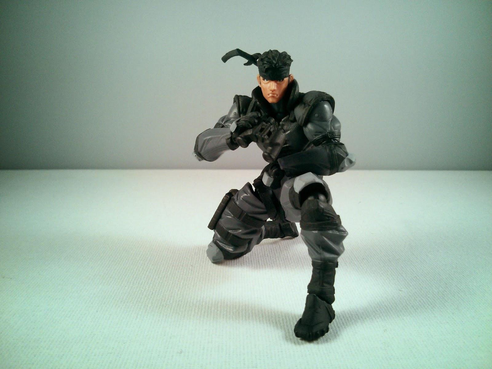 Micro Yamaguchi Revol mini rm-001 Solid Snake