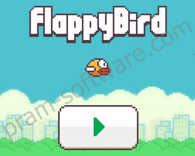 Cara Bermain/Memainkan Game/Permainan Flappy Bird di PC/Laptop/Komputer/Notebook tanpa Emulator dan Secara Online