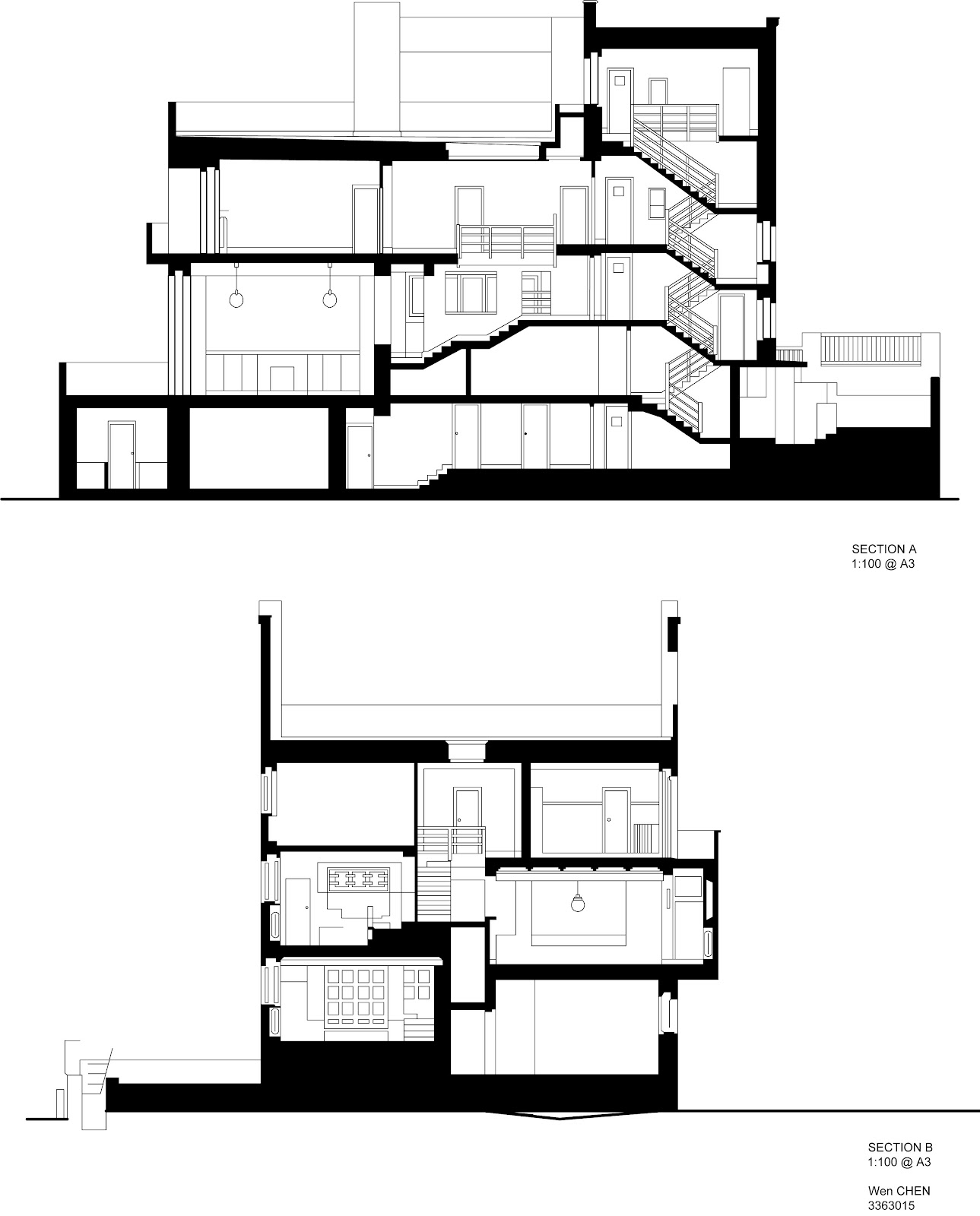 Photo Villa Savoye Floor Plans Images Savoye Floor
