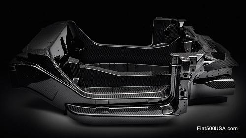Alfa Romeo 4C Carbon Fiber Tub