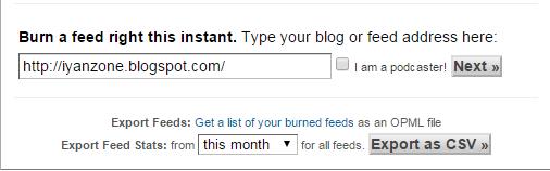 7 Langkah Mendaftarkan Blog Ke Feedburner