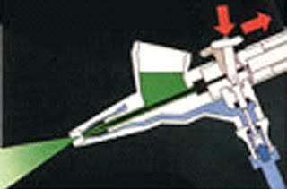Aerógrafo de doble acción