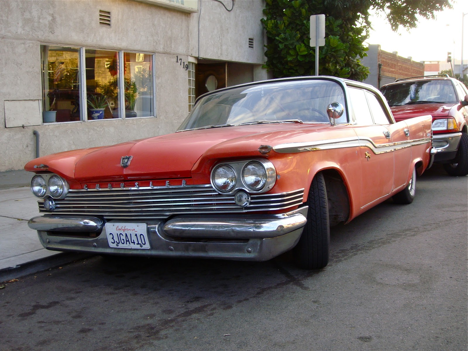 The Street Peep  1959 Chrysler Windsor Sedan