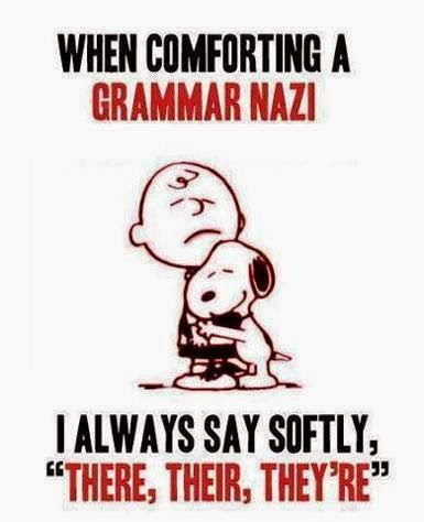 why are people grammar nazis