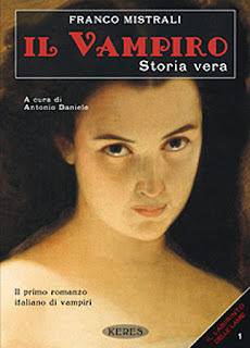 Il vampiro. Storia vera, 2011, copertina