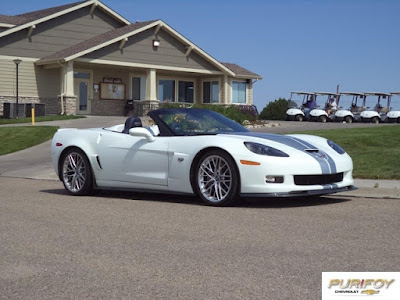 2013 Corvette Z06 at Purifoy Chevrolet