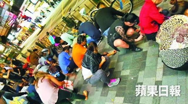 Heboh Tiba-Tiba Berlian Jatuh Dari Langit di Hong Kong