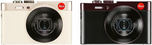 Vista frontale della Leica C type 112