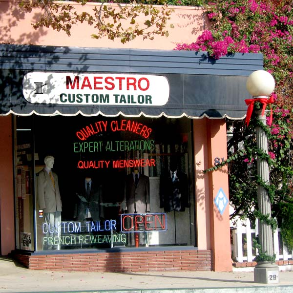 Musical Terms in the Marketplace - Maestro Custom Tailor