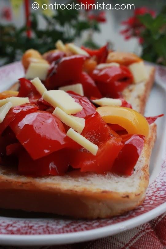 bruschette di peperoni