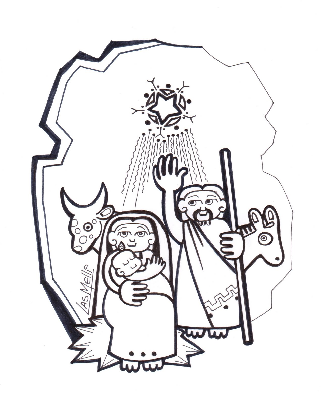 El Rincn de las Melli Rosario Indigena 3 Misterio Gozoso El