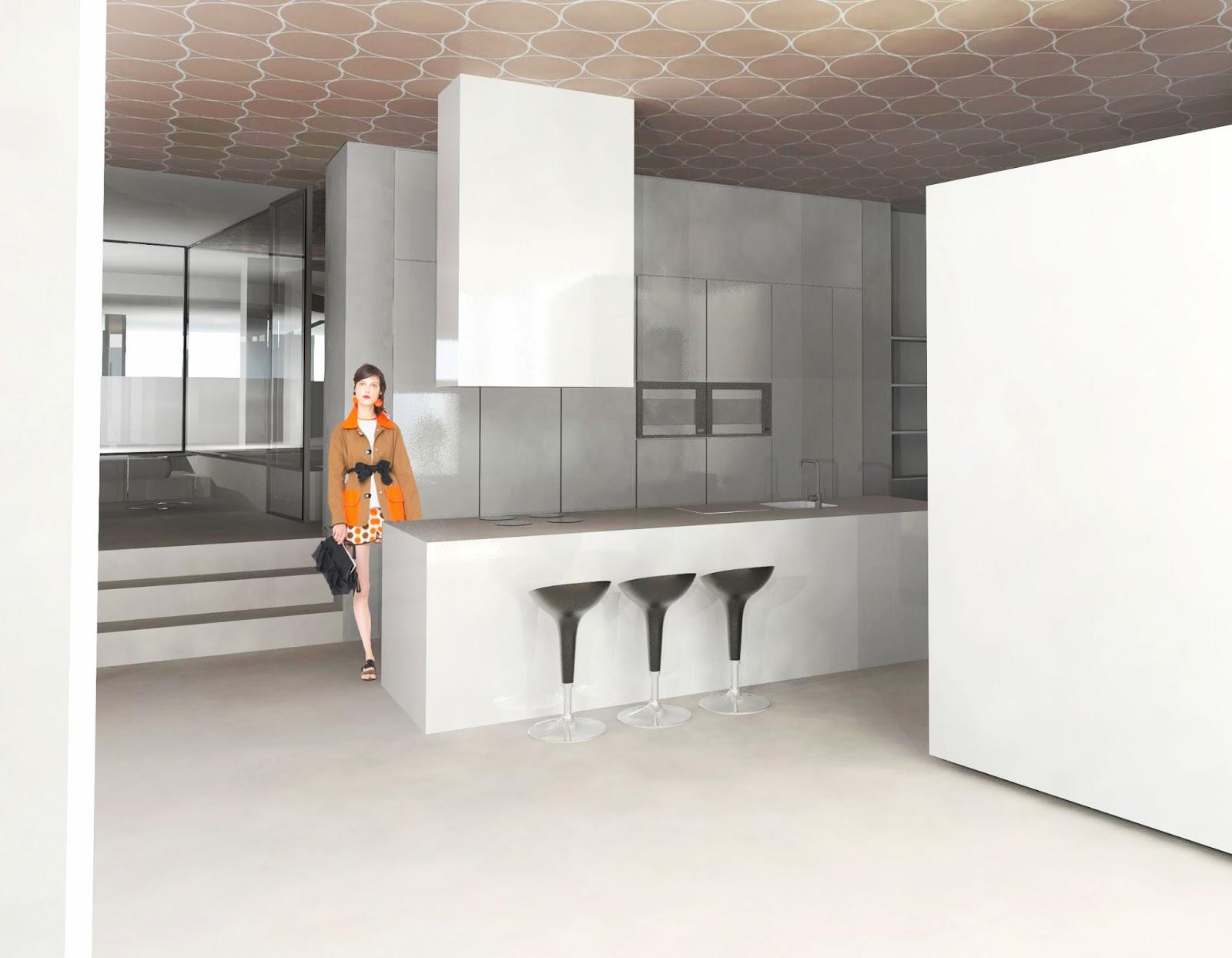Entrecotas vivienda taller para un dise ador de moda madrid - Disenador de interiores madrid ...